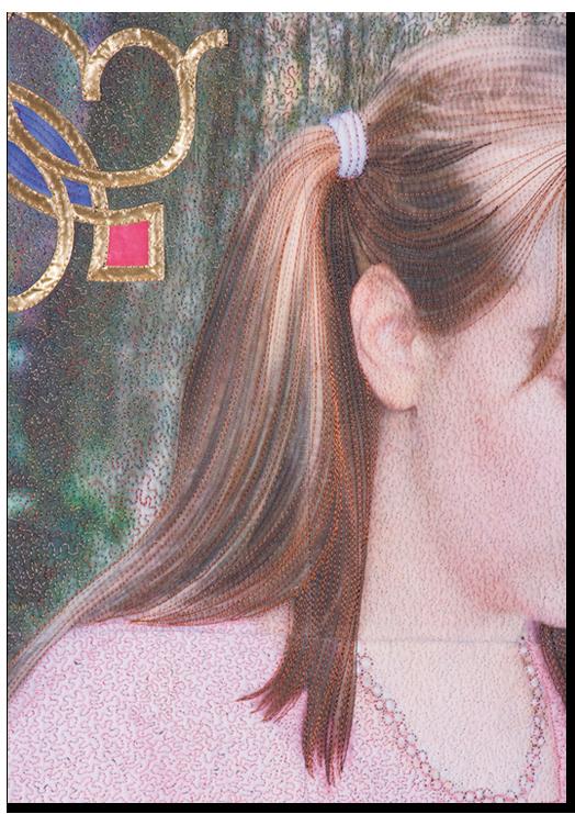 Melissa Quilting — Detail