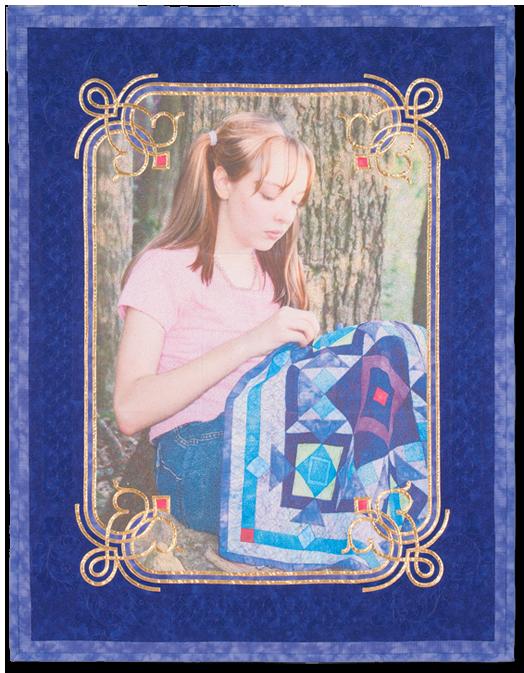 Melissa Quilting ©2007 Rochelle Stibb